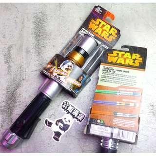 「Starwars Star Wars 星際大戰 光劍 玩具 2色 @公雞漢堡」