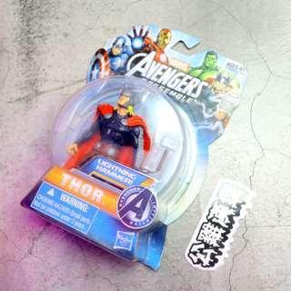 「Marvel Thor 雷神索爾 漫威 公仔 玩具 11cm @公雞漢堡」