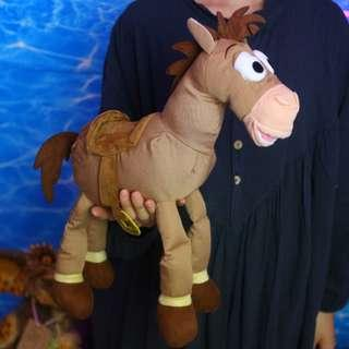 「Toy Story Disney Pixar 紅心 紅心馬 娃娃 公仔 擺飾 大隻款 @公雞漢堡」