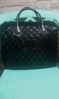 channel jelly hand bag