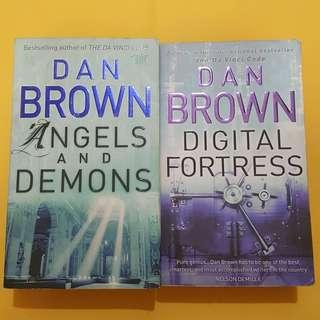 Dan Brown Angel and Demon dan Digital Fortress