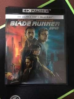 Blade Runner 2049 4K Ultra HD + Bluray