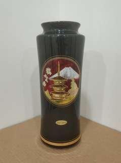 Chokin Vase 24K包金 花瓶 花樽 瓷器 日本製造