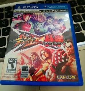 Street Fighter Vs Tekken Psvita