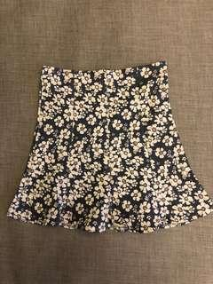 Flower stretch skirt