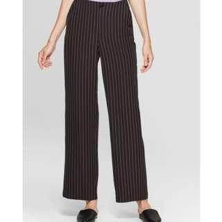 Women's Pinstriped Pants