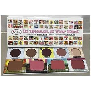 THE BALM VOLUME 2 PALETTE
