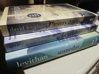 Every Day Series by David Levithan