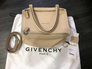 🚚 Authentic preloved Givenchy Pandora small bag nude pink