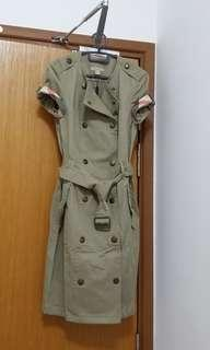 Bnwt Authentic Burberry Trench Dress