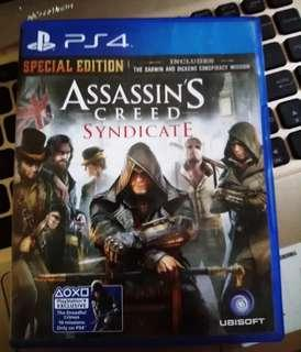 Assasin Creed Syndicate Ps4