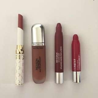 Revlon/Clinique Lip Bundle 🍒