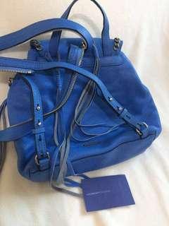 Rare Find Rebecca Minkoff 100% Authentic Leather Backback