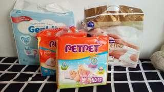 Combo newborn diaper