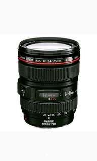 Canon EF 24-105MM f. 4L IS USM