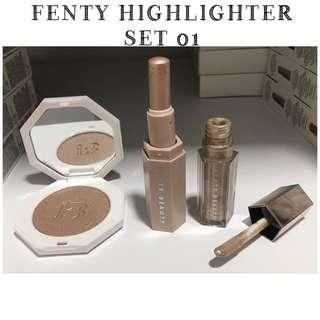 🚚 FENTY HIGHLIGHTER SET