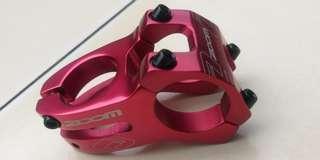 Stem Zoom OS 31.8mm 50mm Oversize Red model Funn Duro