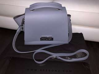 2eed50119d Authentic preloved Zac Posen bag lilac grey