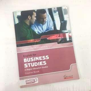 🚚 English for Business Studies in Higher Education Studies Course Book with audio CDs 二手書 外文 #我要賣課本