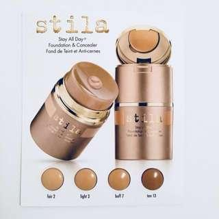 Stila foundation samples