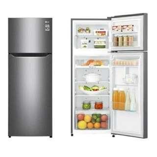 Kredit Refrigenerator LG 2 Door GN-B200SQBB