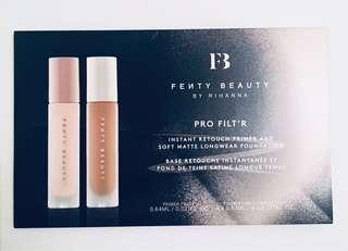 Fenty primer and foundation samples
