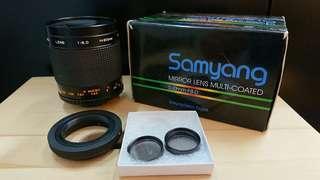 Samyang 500mm F8.0 Lens Used