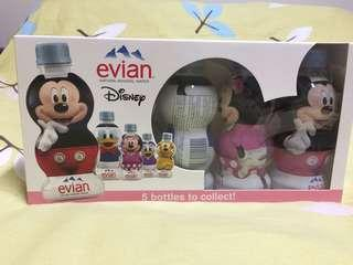 Disney Evian Mineral Water  limited set