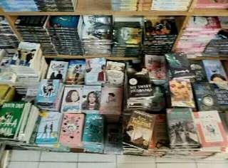 Novel bebas pilih harga sama