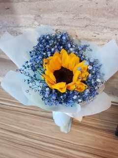 🚚 Mini Sunflower Bouquet | Graduation Bouquet