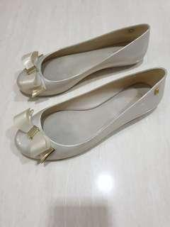 Melissa Jelly Flat Shoes 100% Authentic