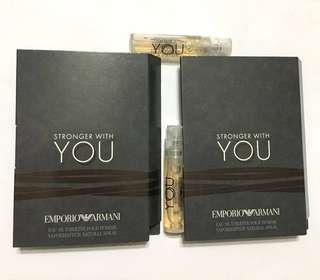 🚚 Armani Stronger With You Perfume Samples