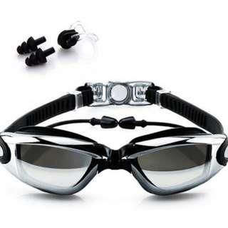 Anti-Fog Swimming Goggles (Normal Mail Included)