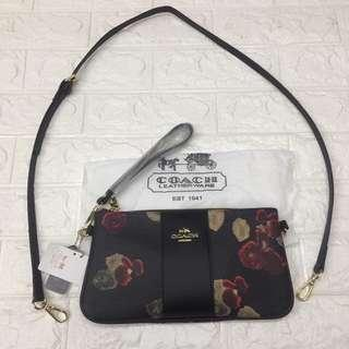 Coach two way Wrislet & Sling bag High Quality