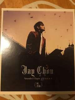周杰倫 十一月的蕭邦 CD+VCD