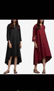 🚚 S-5XL Women Retro Vintage High Low Long Dress