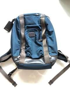 Authentic Tumi Alpha Bravo Edward Backpack Navy color