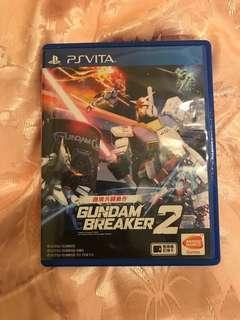 Gundam Breaker 2 PSV