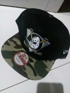 Anaheim Mighty Ducks Camo Snapback By New Era