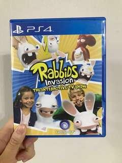 PS4 Rabbids invasion the interactive TV show