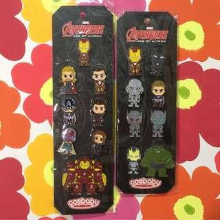 Marvel Avengers x Hot Toys Pin Sets (Cosbaby) 襟章