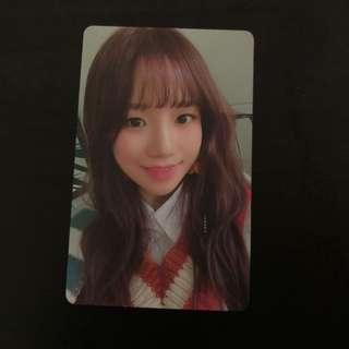 🚚 free nm iz*one izone yuri photocard