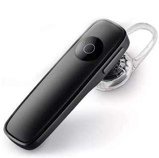 M165 Bluetooth Wireless Business Earphone/Headset - Black 黑色商業藍牙耳機