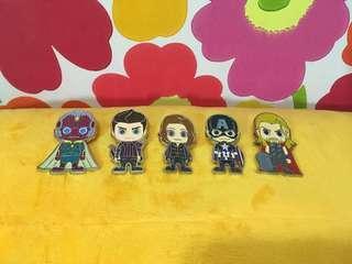 Marvel Avengers x Hot Toys Pin