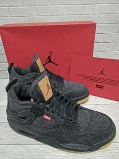 Air Jordan x Levi's Black Denim Original 100%