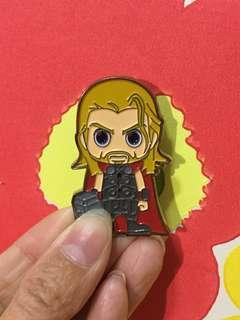 Marvel Avengers x Hot Toys Pin 雷神Thor