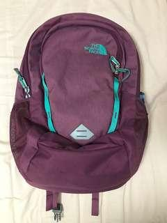 North face purple backpack