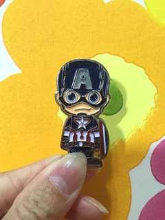 Marvel Avengers x Hot Toys Pin 美國隊長Captain America