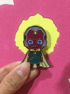 Marvel Avengers x Hot Toys Pin 幻視Vision