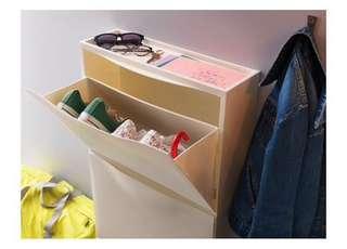 IKEA TRONES RM80/3pcs shoe rack cabinet